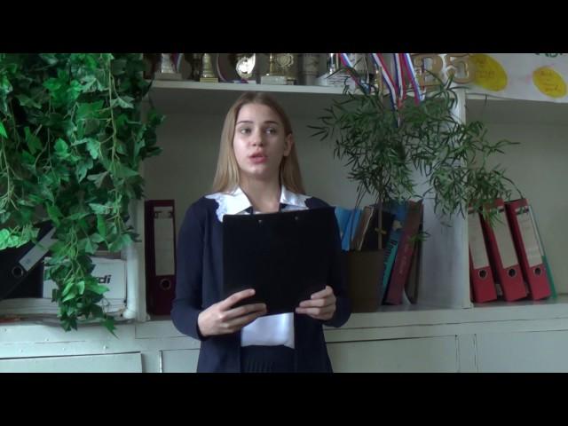 Изображение предпросмотра прочтения – ПолинаШевлякова читает произведение «Лев и Комар» И.А.Крылова