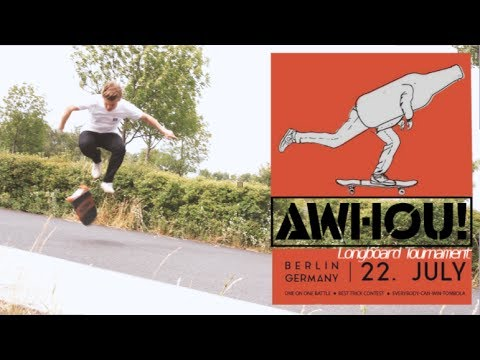 AWHOU! Longboard Tournament Official Trailer 2