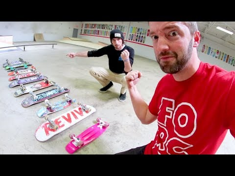 YOU MUST SKATE ALL THE BOARDS! / Game Of S.K.A.T.E.