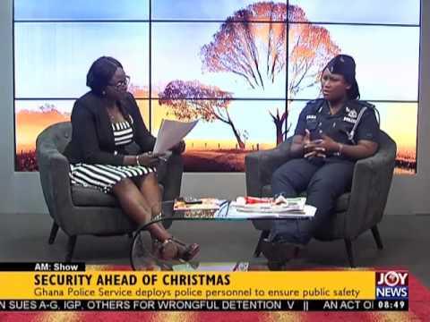 Security Ahead of Christmas - AM Show on Joy News (21-12-16)