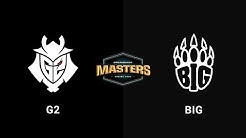 G2 Esports vs BIG - Mirage - Grand Finals - Europe - DreamHack Masters Spring 2020