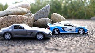 Супер гонки и дрифт на машинах.  Мультик про гоночные машины(Мультик про машинки, которые устроили настоящие гонки с дрифтом, на настоящих гоночных машинах. В этой гонк..., 2016-09-25T03:00:01.000Z)