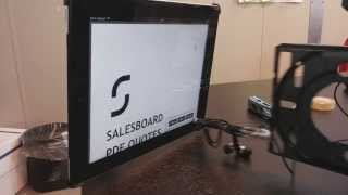 Automated iPad button pusher using a PC and CD-ROM drive.