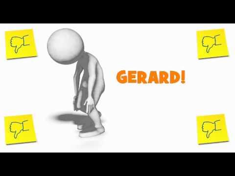 Joyeux Anniversaire Gerard Un An De Plus Youtube