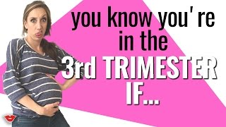 Reality of Pregnancy: 3rd Trimester! | Jordan from Millennial Moms