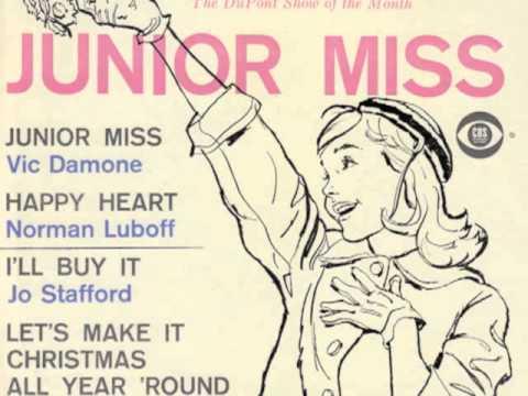 "Jo Stafford ""I'll Buy It"" Burton Lane Dorothy Fields ""Junior Miss"" TV Score EP"