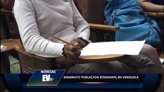 Disminuyó población estudiantil en Venezuela - Noticias EVTV 07/09/2020