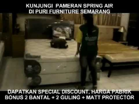 Pameran In Store Promo Spring Air Di Puri Furniture Puri