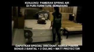 PAMERAN IN STORE PROMO SPRING AIR DI PURI FURNITURE / PURI MEBEL SEMARANG KASUR MATTRESS DIVAN