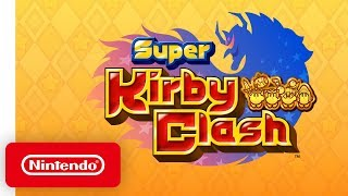 Super Kirby Clash - Overview Trailer - Nintendo Switch