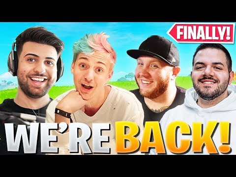 THE SQUAD IS FINALLY BACK ON FORTNITE!!