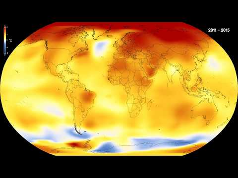 NASA video that conferred the global temperature trends of nearly 140 years raises concerns over global warming