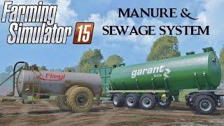 Farming Simulator 15 Manure e Sewage System