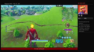 Fortnite battle royal give away at 500 subs no mic