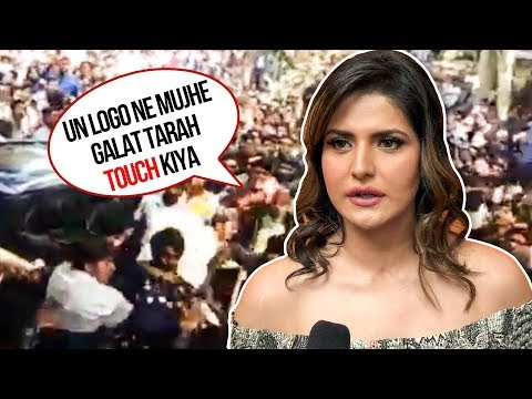 Zarine Khan BEATS People In Aurangabad For TOUCHING Her Inappropriately