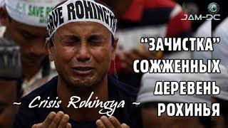 """Кризис Рохинья: """"Зачистка"""" сожженных мусульманских деревень"""