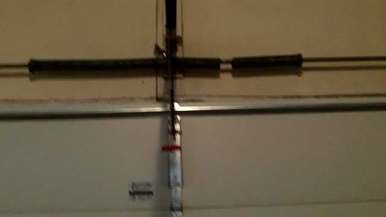 Does your garage Door Goes up a foot then stops630271