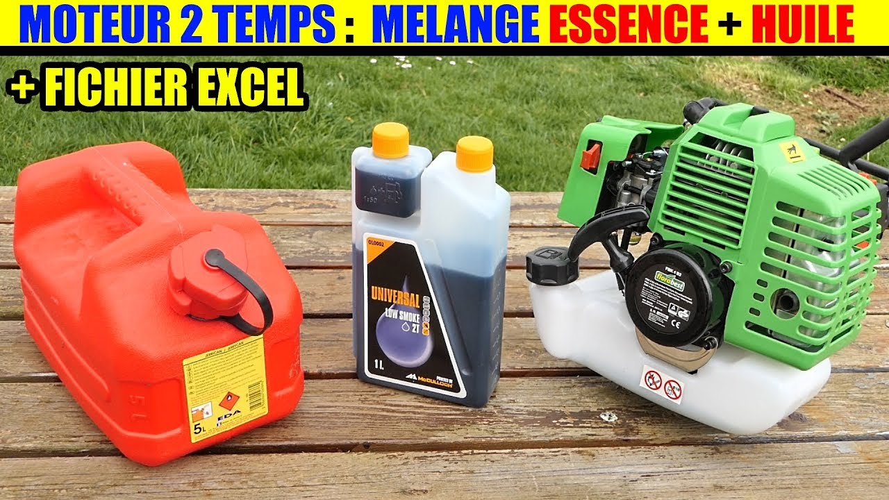 m lange essence huile moteur 2 temps lidl florabest outil modulable thermique 2 cycle gasoline. Black Bedroom Furniture Sets. Home Design Ideas