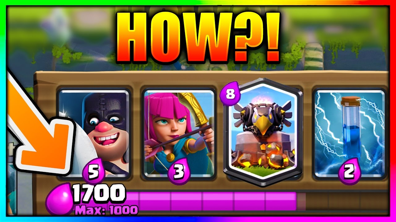 clash royale unlimited elixir apk