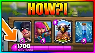 1000 ELIXIR BATTLE IN CLASH ROYALE! FUN PRIVATE SERVER - Clash Royale