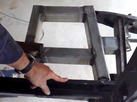 Fj Holden Chassis Modification Youtube