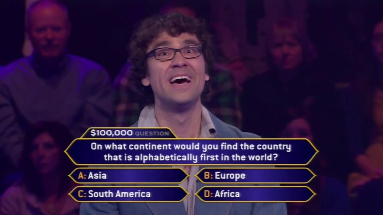 Who Wants to Be a Millionaire: I lost on the show, and it