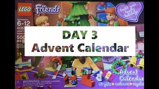 Day 3 - Build your own Lego Christmas Tree Decorations - Lego Friends Advent Calendar Dec 3 2018