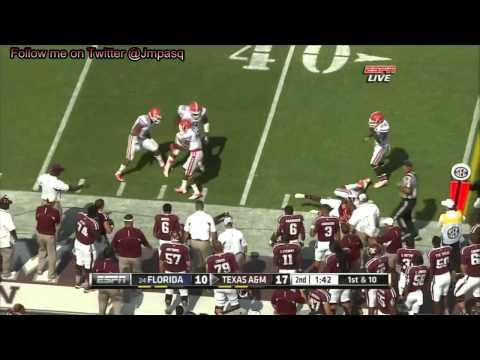 Johnny Manziel vs Florida 2012