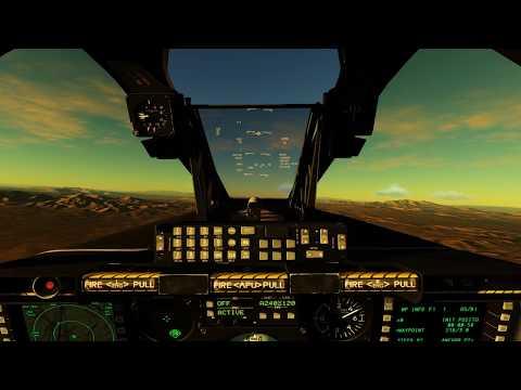 Digital Combat Simulator  A10c start up ,taxi ,takeoff & landing