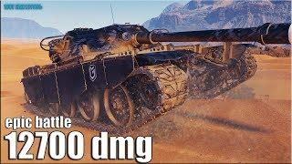 Статист ТАЩИТ до последнего снаряда ✅ 12к урона World of Tanks лучший бой