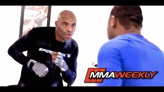 Anderson Silva: Full UFC 234 Pre-Fight Workout from Los Angeles