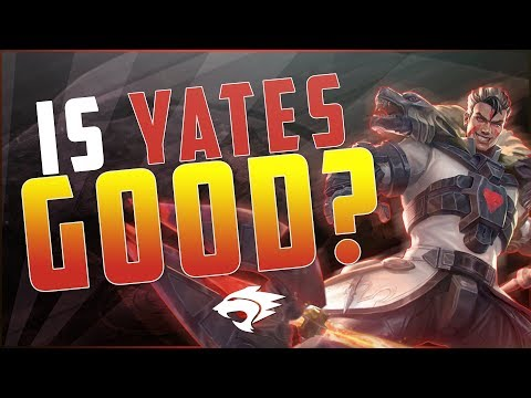NEW HERO YATES THOUGHTS AND TIPS - Vainglory 5v5