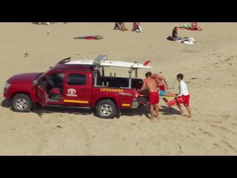Lifeguards Show Off Vehicles, Skills During News Conference