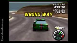 Classic Game Room - TOP GEAR RALLY review for N64