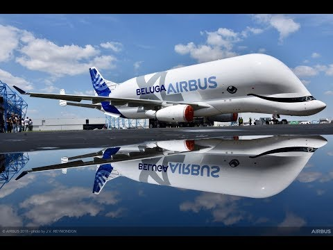 Airbus BelugaXL: Take Off And Maiden Flight 2018