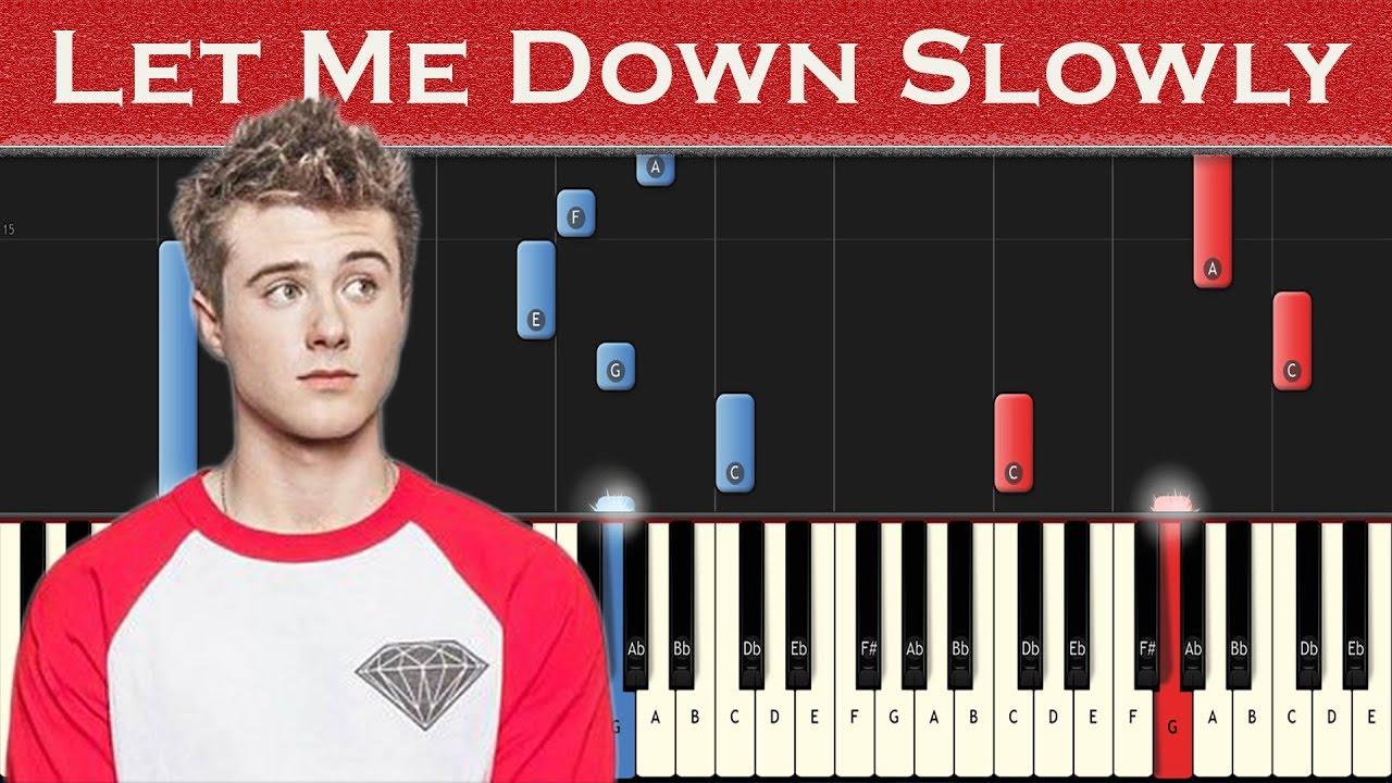 Avril lavigne let me go (piano tutorial) ft chad kroeger youtube.