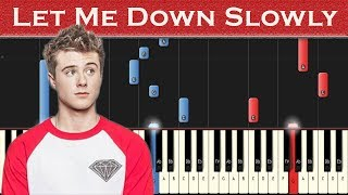 Piano lesson/tutorial for alec benjamin's song let me down slowly. learn songs quick and easy with this app: https://tinyurl.com/stivo-flowkey all cred...