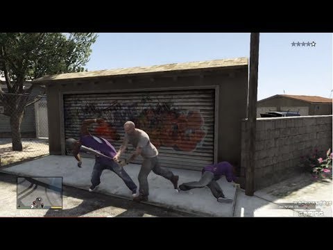 GTA 5 - Baseball Bat Bashing