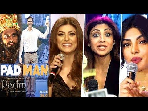 Bollywood Celebs Reaction On Akshay Kumar Postpones Padman For Padmavati Release-Ranveer,Deepika