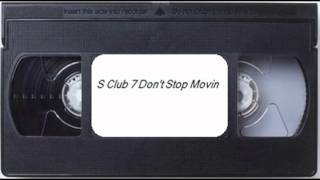 a quickly look at s club 7 don t stop movin vhs and welsh superted vhs