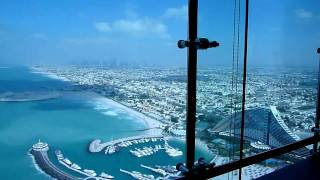 View from High Tea at the Burj Al Arab
