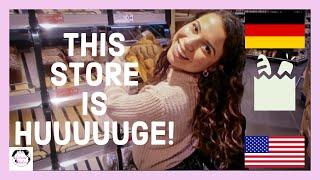AMERICAN goes to GERMAN GROCERY STORE | EDEKA Vlog