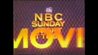 Princess Daisy 1983 NBC Sunday Night At The Movies Intro