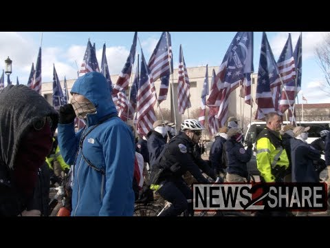 Desfile fascista en Washington DC
