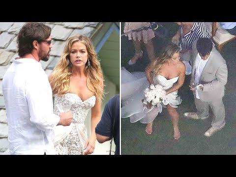Denise Richards And Aaron Phypers Get Married In Malibu