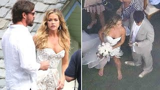 Denise Richards And Aaron Phypers Get Married In Malibu!