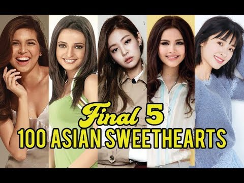 Asian sweet hearts