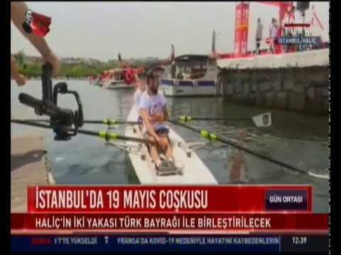 Beyoğlu Belediyesi - Haliç'te Dragon Bot Kortej Geçişi Yapılıyor - HaberTürk
