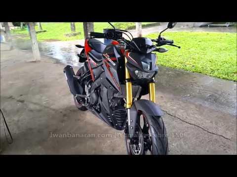 Yamaha Xabre 150 review fisik