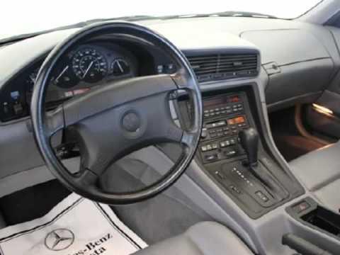 1991 bmw 8 series 2dr coupe 850i augusta ga georgia youtube. Black Bedroom Furniture Sets. Home Design Ideas
